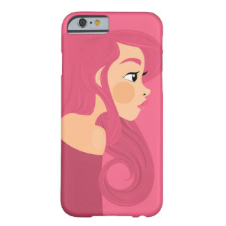 Pink Hair Barely There iPhone 6 Case
