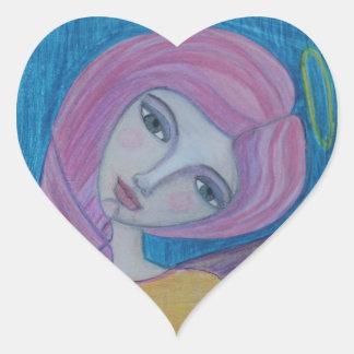 Pink Haired Angel, Sticker