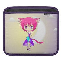 Pink Haired Neko Anime Girl, Rickshaw Sleeve