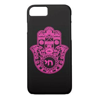 Pink Hamsa Symbol iPhone 7 Case