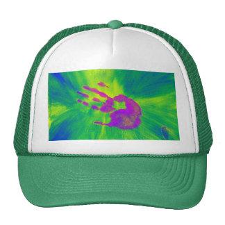 Pink Hand Trucker Hat