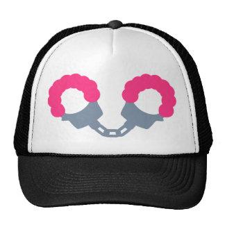 Pink Handcuffs Hats
