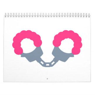 Pink Handcuffs Calendar