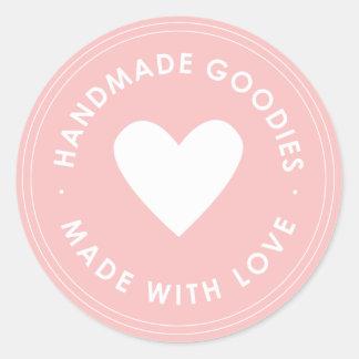 Pink Handmade Goodies Sticker