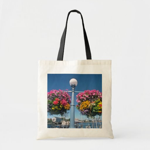 Pink Hanging flowers, Victoria flowers Bags