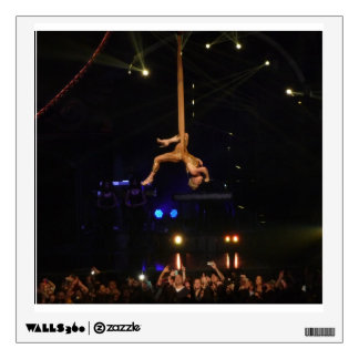 Pink Hanging In The Air Wall Decal