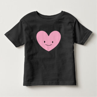 Pink Happy Heart Graphic T-Shirt