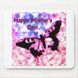 Pink Happy Mother's Day Design Mouse Pad