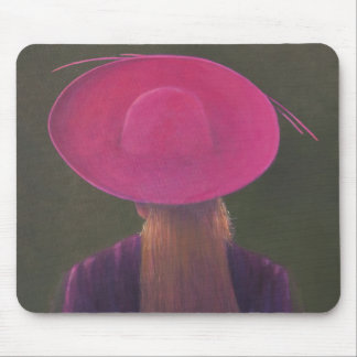 Pink Hat 2014 Mouse Pad