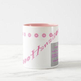 Pink Hawaii Photo mug