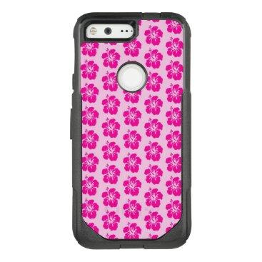 Beach Themed Pink Hawaiian Google Pixel Otterbox Case