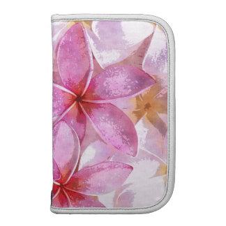 Pink Hawaiian Plumeria Flower Watercolor Painting Planner
