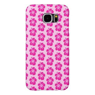 Beach Themed Pink Hawaiian Samsung Galaxy S6 Phone Case