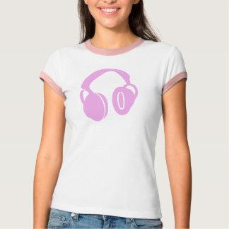 Pink Headphone Top