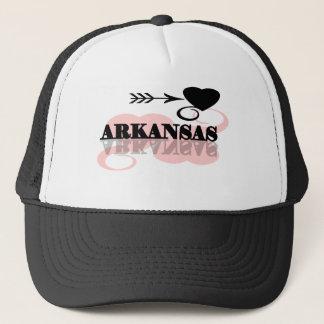 Pink Heart Arkansas Trucker Hat