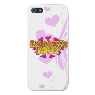 pink heart bachelorette party crazy neon wild fun iPhone 5 cases