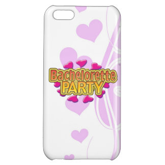 pink heart bachelorette party crazy neon wild fun iPhone 5C covers