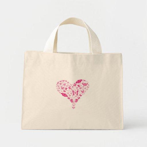 pink heart bolsa de mano