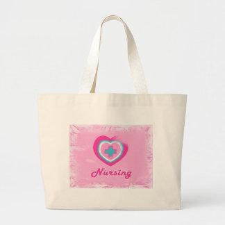 Pink Heart Cross- Nursing Bags