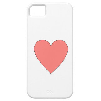 Pink Heart Customizable iPhone SE/5/5s Case