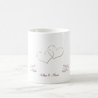 Pink Heart Cute Valentine's Day Personalized Mug