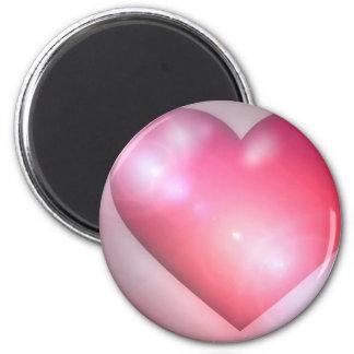 Pink Heart Design Magnet Refrigerator Magnet