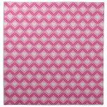 Pink Heart Design Napkins