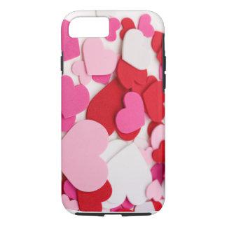 Pink heart designed i phone 6 case