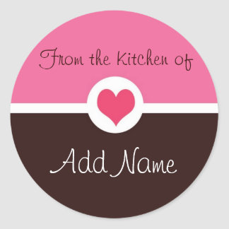 Pink Heart from the kitchen of Sticker