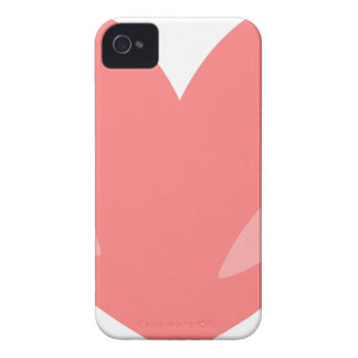 Pink Heart iPhone 4 Cover