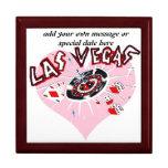 Pink Heart Las Vegas Keepsake Boxes