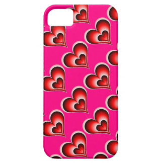 Pink heart love iPhone SE/5/5s case
