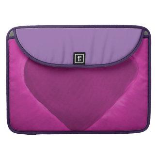 Pink Heart Love Sleeve For MacBooks