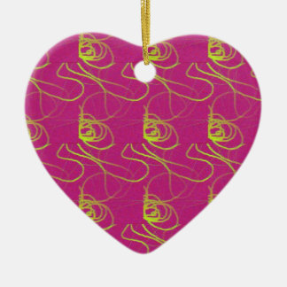 Pink Heart Ornament