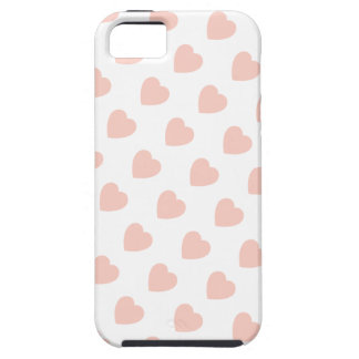Pink Heart Pattern iPhone 5 Case-Mate Vibe™ iPhone SE/5/5s Case