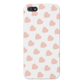 Pink Heart Pattern iPhone 5 Case Savvy Glossy