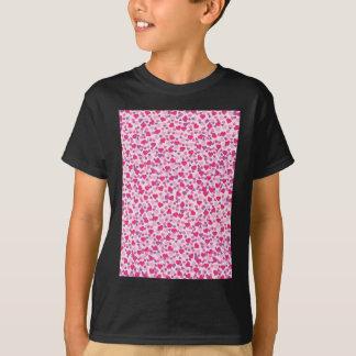 Pink Heart Patterns T-Shirt
