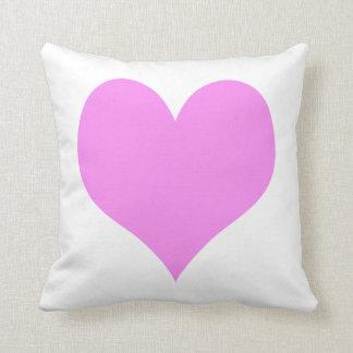 Pink Heart Pillow