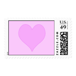 Pink Heart Postage