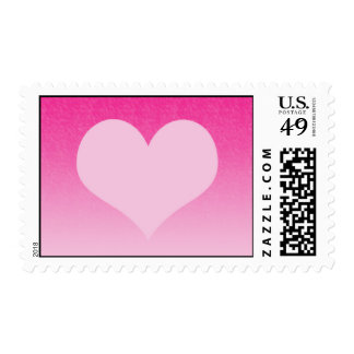Pink heart stamps
