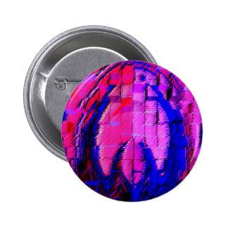 Pink HEART - Street SMART Pinback Buttons