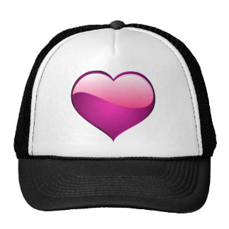 Pink Heart Trucker Hat