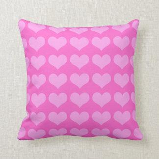 pink hearts American Mojo pillow Pillow