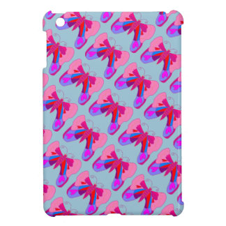 Pink Hearts and Love Valentine's Butterfly iPad Mini Covers