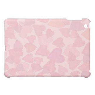 PINK HEARTS by SHARON SHARPE iPad Mini Case