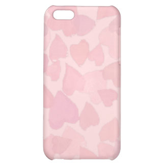 PINK HEARTS by SHARON SHARPE iPhone 5C Cases