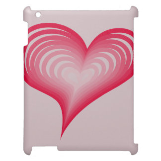Pink hearts cover for the iPad