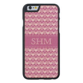 Pink Hearts custom monogram cases