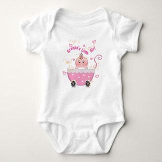 Pink Hearts Granpa's Little Girl Creeper
