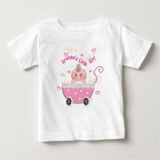 Pink Hearts Granpa's Little Girl Infant T Shirt
